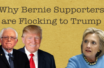Why Bernie Supporters are Flocking to Trump