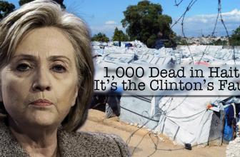 1,000 Dead in Haiti: It's the Clinton's Fault