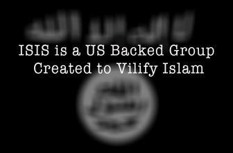 ISIS is a US Backed Group made to Vilify Islam