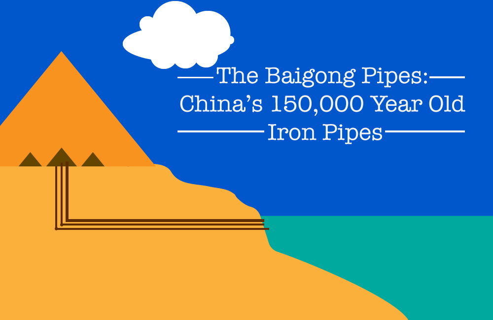 The Baigong Pipes: China's 150,000 Year Old Iron Pipes