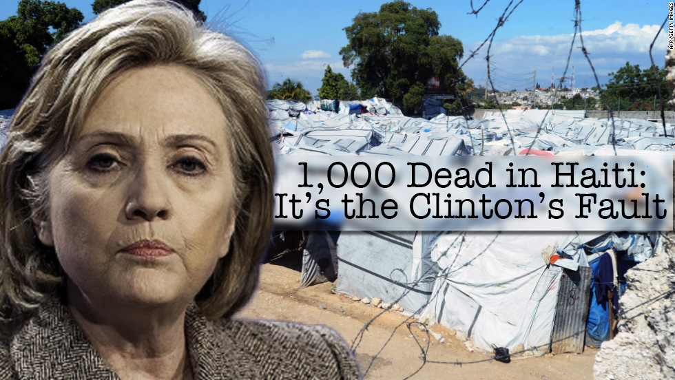 1,000 Dead in Haiti: It's the Clinton's Fault