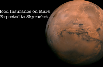 Flood Insurance on Mars Expected to Skyrocket.