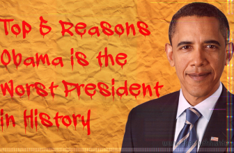 Top 5 Reasons Obama is the Worst President in History